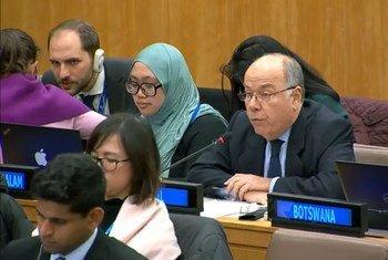 O representante do Brasil falou durante o debate da Terceira Comissão sobre a Pena de Morte.