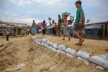 Rohingya refugee settlement, Cox's Bazar, Bangladesh.