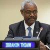Le Conseiller spécial du Secrétaire général pour le Sahel, Ibrahim Thiaw.