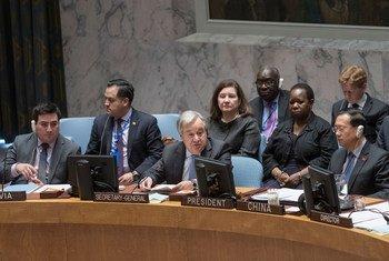 Guterres afirmou que a manutenção da paz em África continua a apresentar alguns dos maiores desafios da ONU