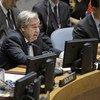 El Secretario General, António Guterres, habla ante el Consejo de Seguridad en un debate sobre multilateralismo y el papel de Naciones Unidas