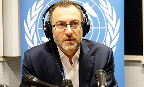 Representante especial adjunto da Missão da ONU no Afeganistão, Unama, Toby Lanzer.