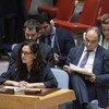 Reena Ghelani, directora de Operaciones de OCHA, informa al Consejo de Seguridad sobre la situación humanitaria en Siria.