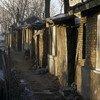 خبراء الأمم المتحدة يدعون دول العالم لمجابهة أزمة الإسكان التي تؤثر على الملايين من السكان. الصورة من مدينة لزقاق جانبي في إسكاني في الصين.