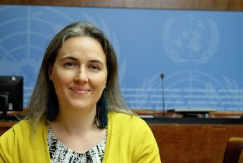 Amelie Chayer, Government Liaison and Policy Manager for the International Campaign to Ban Landmines (ICBL)..