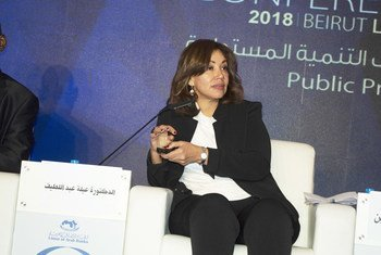 الدكتورة عبلة عبد اللطيف - مستشارة الرئيس المصري للشؤون الاقتصادية: لا يجب أن ينظر إلى المرأة على أنها مختلفة عن الرجل في مجال ريادة الأعمال.