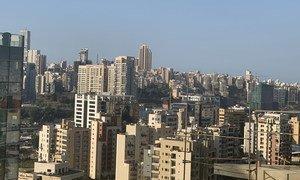 Capital do país, Beirute, onde aconteceram explosões
