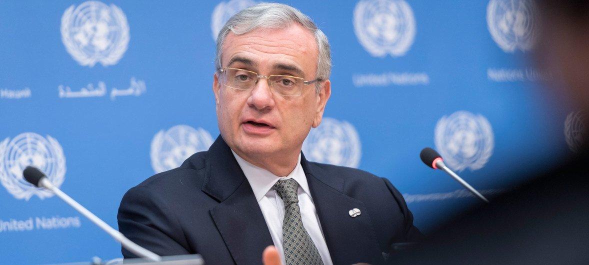 Jorge Chediek, enviado especial del Secretario General para la Cooperación Sur-Sur.
