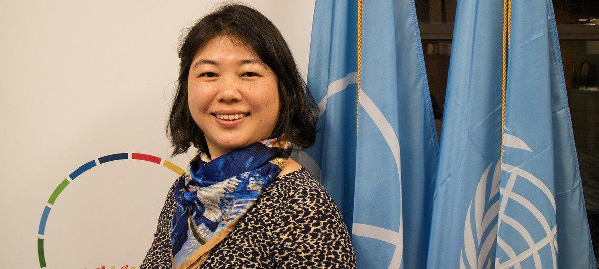 Vice-diretora do Escritório da ONU para Cooperação Sul-Sul, Unossc, Xiaojun Grace Wang