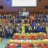 Primeiro Fórum Africano de Comitês Nacionais de Facilitação do Comércio, que aborda a redução de obstáculos ao comércio no continente.