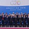 Les délégués du sommet du G20 éunis à Buenos Aires, en Argentine. (30 novembre 2018)