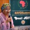 UN Deputy Secretary-General Amina J. Mohammed addressing the Africa Youth Development Summit, in Johannesburg, South Africa.