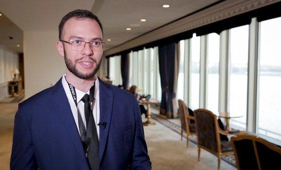 Bruno Tarpani, um dos vencedores do Plural + 2017.
