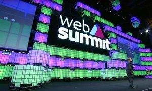 全球网络峰会(Web Summit)今天在葡萄牙里斯本开幕。联合国秘书长古特雷斯出席会议并致辞。