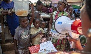 Unicef revelou que um em cada 10 pacientes com a doença tem menos de cinco anos.