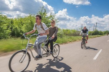 In Ukraine, people with disabilities have contributed to developing sustainable tourism initiatives.