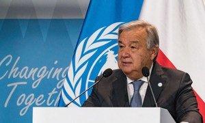 Guterres disse que ficou profundamente triste com a trágica perda de vidas.