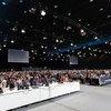 Séance d'ouverture des travaux de la COP24 sur le climat, à Katowice, Pologne.