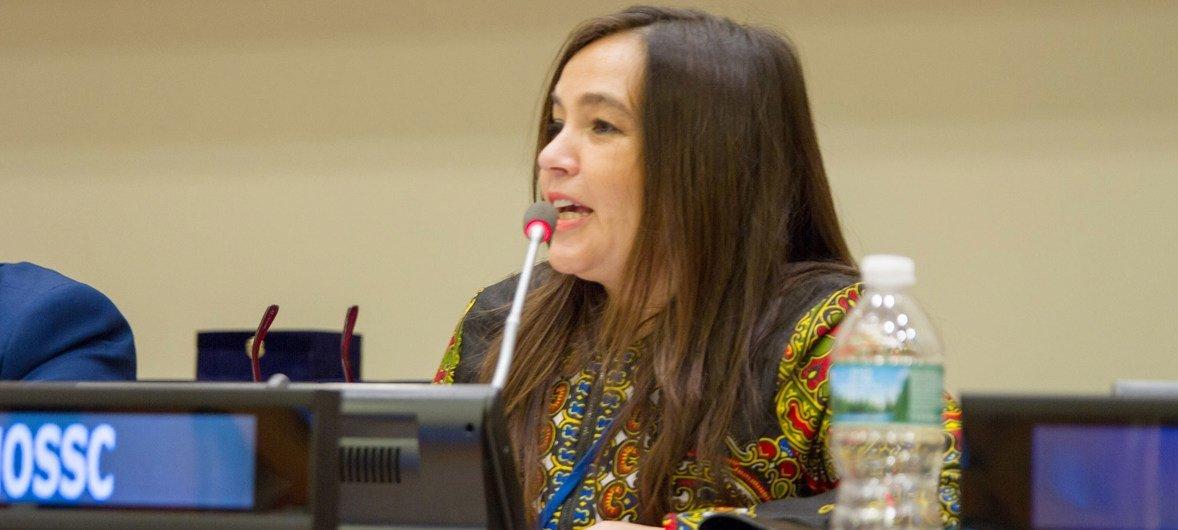 Cecilia Milesi, consejera senior sobre paz y desarrollo de la Oficina de las Naciones Unidas para la Cooperación Sur-Sur.