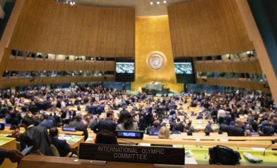 O texto do Pacto Global para uma Migração Segura, Ordenada e Regular, foi aprovado pelos Estados-membros com o apoio da Assembleia Geral