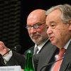 12月4日,联合国秘书长古特雷斯出席在波兰卡托维兹举行的《联合国气候变化框架公约》第24次缔约国会议。