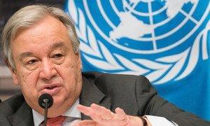 Antônio Guterres abriu oficialmente o evento na segunda-feira na cidade da Polônia