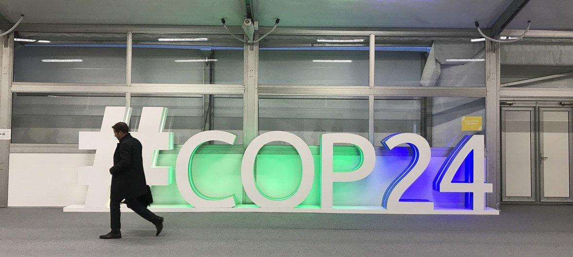 La Conférence sur le climat, COP24, à Katowice, en Pologne.