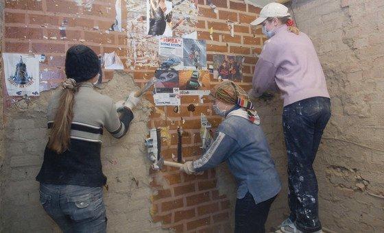 Мигранты из Молдовы трудятся в Москве
