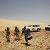 Des Casques bleus sont stationnés au Sahara occidental depuis 1991 dans le cadre de la Mission de l'ONU, la MINURSO (archives).