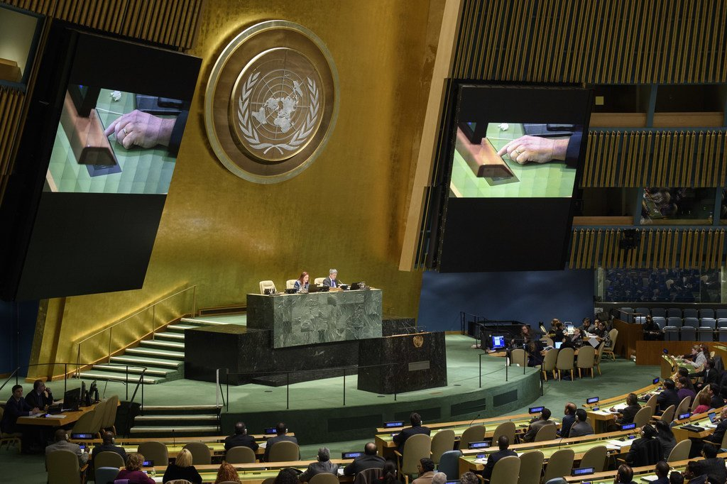 جلسة الجمعية العامة السابعة والأربعون - الحالة في الشرق الأوسط - البند 38