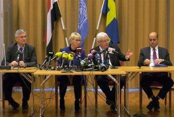 Пресс-конференция Специального посланника Генерального секретаря ООН по Йемену Мартина Гриффитса в Швеции.