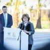 A representante especial do secretário-geral para a Migração Internacional, Louise Arbour, presidiu à Conferência.