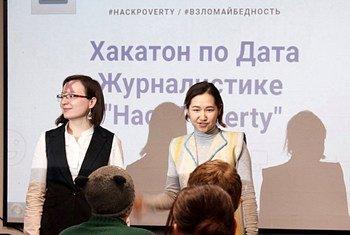 Алтынай Мамбетова и Анастасия Валлева – основатели Школы данных в Кыргызстане.