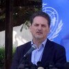 Kamishna Mkuu wa UNRWA aliyejiuzulu leo 6 Novemba 2019, Pierre Krähenbühl. Picha hii ni ya tarehe 11 Desemba 2018
