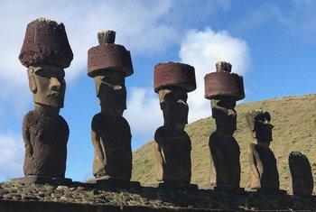 El aumento del nivel del mar está amenazando la herencia única de la Isla de Pascua.