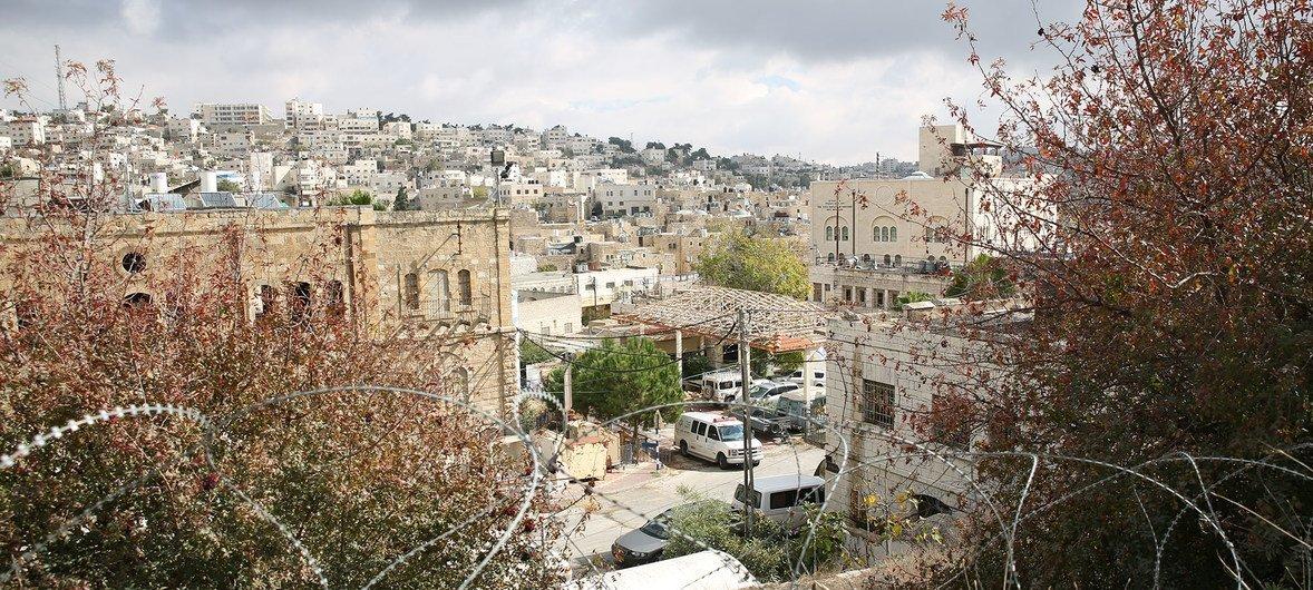 西岸希伯伦H2区的一个犹太人定居点。