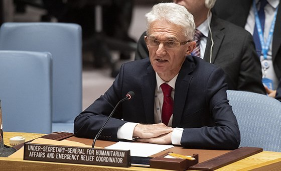 """O subsecretário-geral da ONU para os Assuntos Humanitários, Mark Lowcock considera que a Síria continua a ser """"uma das grandes crises"""" da atualidade."""