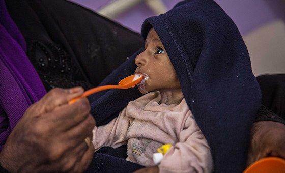 A ONU alertouque sem ação imediata, a fome é iminente nos próximos meses.