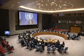 L'Envoyé spécial de l'ONU pour le Yémen, Martin Griffiths, présente les accords conclus dans la Déclaration de Stockholm au Conseil de sécurité.
