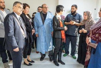وفد أممي رفيع المستوى يزور ليبيا ويدعو الحكومة الليبية والأطراف المعنية الوطنية والدولية إلى العمل على الاستجابة للاحتياجات الملحة للمواطنين ودعم الجهود الرامية إلى تحقيق الاستقرار والتعافي في البلاد.
