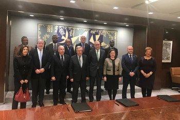 Assinatura de um Protocolo de Cooperação entre o Camões, I.P., o Ministério das Relações Exteriores do Brasil (MRE) e a Escola Internacional das Nações Unidas, Unis