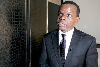 António Pedro , diretor do Escritório Sub-regional da ECA para a África Central