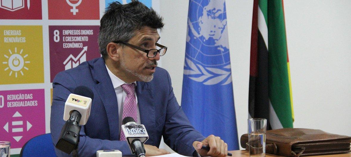Независимый эксперт по вопросу защиты от насилия по признаку сексуальной ориентации Виктор Мадригал-Борлоз.
