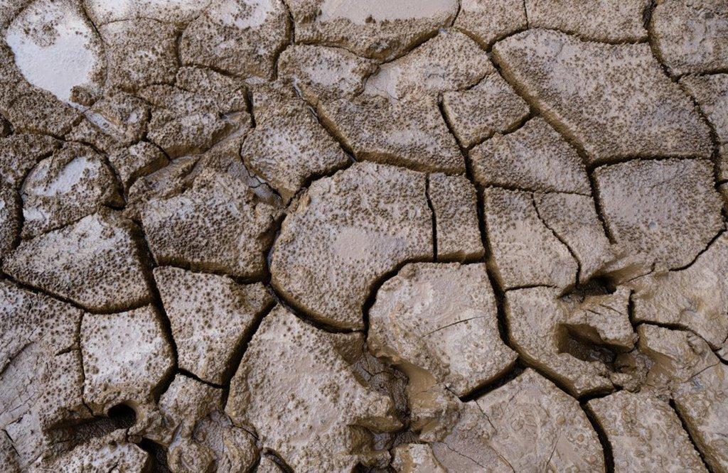 干旱的土地。