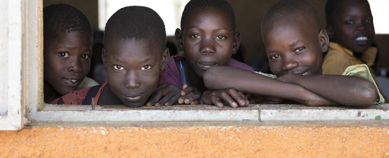 Crianças no Sudão do Sul