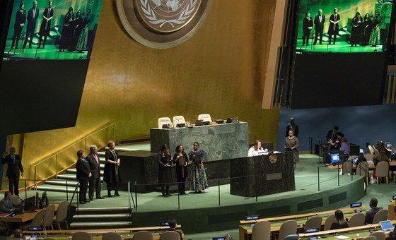 Vencedores do Prêmio dos Direitos Humanos da ONU são eleitos por um comitê especial.