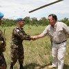 David Gressly, représentant spécial adjoint du Secrétaire général en RDC, a effectué une visite de travail dans la province du Tanganyika du 19 au 21 décembre 2018.