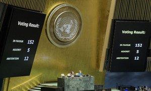 Em dezembro de 2018, o Pacto Global para a Migração foi aprovado com 152 votos a favor, cinco contra e 12 abstenções.