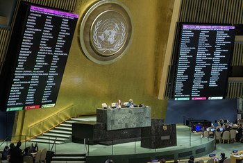The Global Compact for Migration was adopted  in the UNGA  Vote: Favor 152 Against 5 Abstention 12