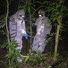 Investigadores de ébola en Sierra Leona.